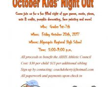 Kids Night out at ARHS