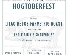 "Romaine's Announces Its First Ever ""Hogtoberfest"""