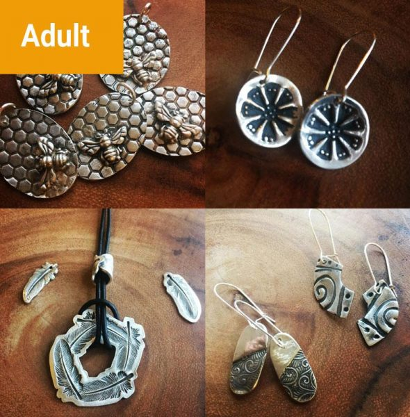 Silver Metal Clay 101 (Jewelry Making)