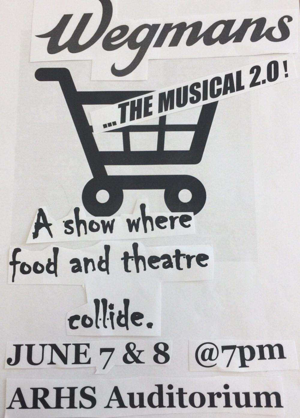 Wegmans...the Musical 2.0 at ARHS » The Northborough Guide