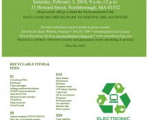 Zeh School to Host Electronics Recycling Event