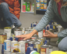 Food Pantry is Critically Low